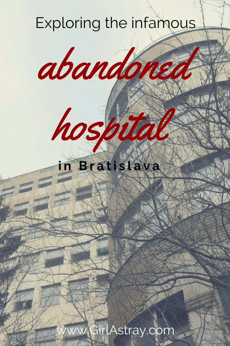 Urbex - Abandoned - Dark tourism: Read about the abandoned hospital of Bezrucova in Bratislava, Slovakia and see the last photos taken just a few days before the current reconstruction started.