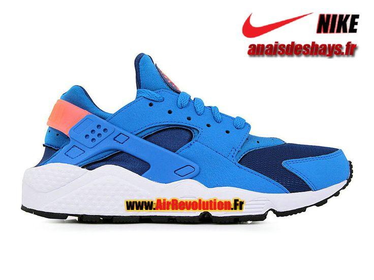 Boutique Officiel Nike Air Huarache Homme Bleu Gym/Bleu photo/Mangue éclatant/Blanc 318429-402