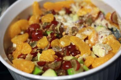 Quinoa fruit salad! | Hot Summer Meals | Pinterest