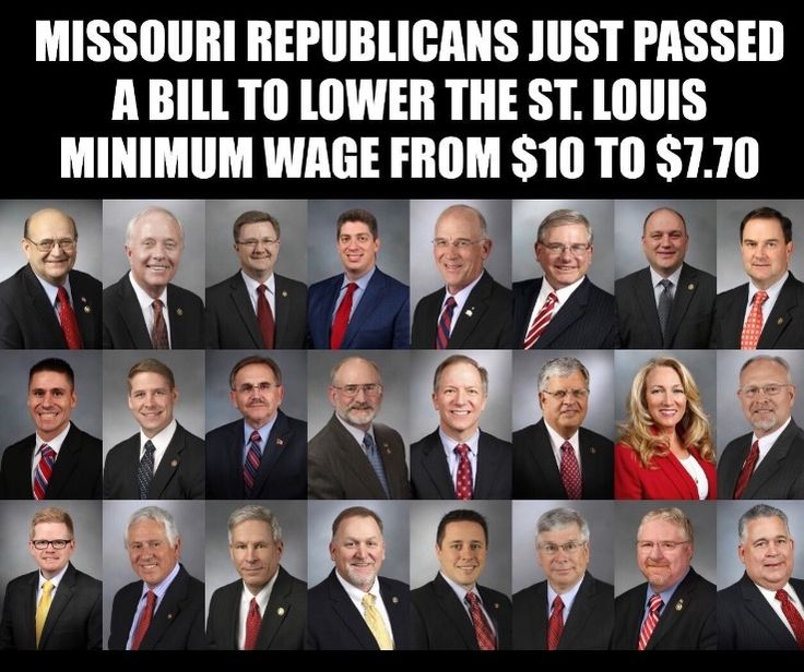 Bill blocking St. Louis minimum wage hike is sent to Greitens  -  Missouri's Republican-led Legislature gave final approval to a bill banning cities from adopting minimum wages higher than the state's rate, which is currently $7.70. http://www.stltoday.com/news/local/govt-and-politics/bill-blocking-st-louis-minimum-wage-hike-is-sent-to/article_1cc4462b-d7b6-5451-95c3-4547e8aea5dc.html