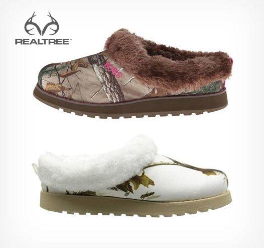 Skechers Women 39 S Keepsakes Snow Angels Mule In Realtree Xtra And Snow Cam