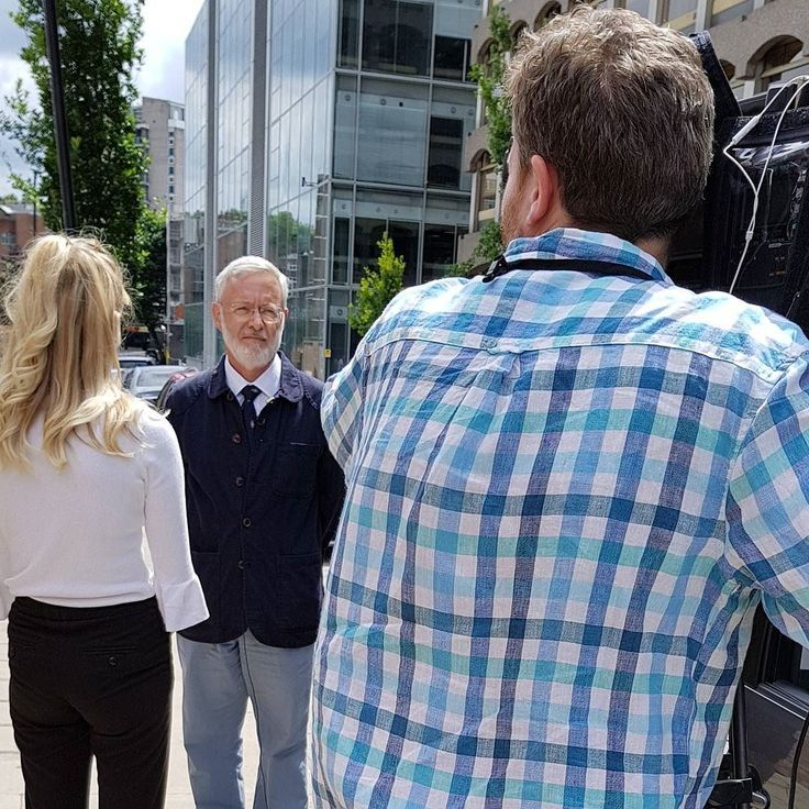 Prof Philip Steer chair of our Medical Advisory Panel is interviewed for tonight's Channel 5 News going out both in their 5pm and 6.30pm editions - making people #gbsaware