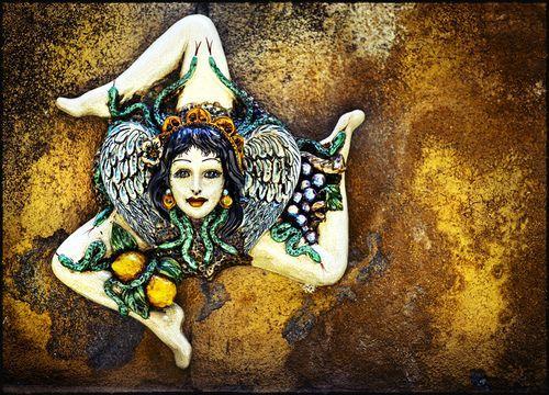 sicily on Pinterest | Palermo Sicily, Symbols and Human Leg