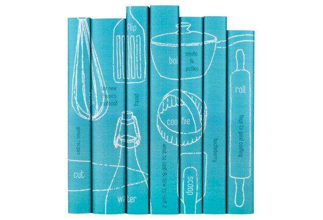 S/7 Contemporary Cookbook Set