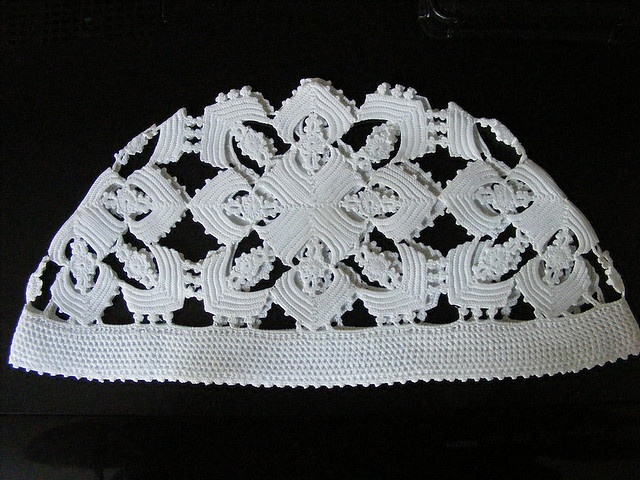 Lace cap, part of the traditional costume the ladies of Spakenburg wear.
