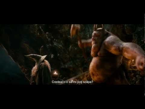 The Hobbit - Goblin Chase Part II - Goblin King vs Gandalf - 1080p Full HD