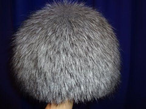 Как сделать женскую шапочку из кусочков меха/DIY/Сделай САМ! - YouTube