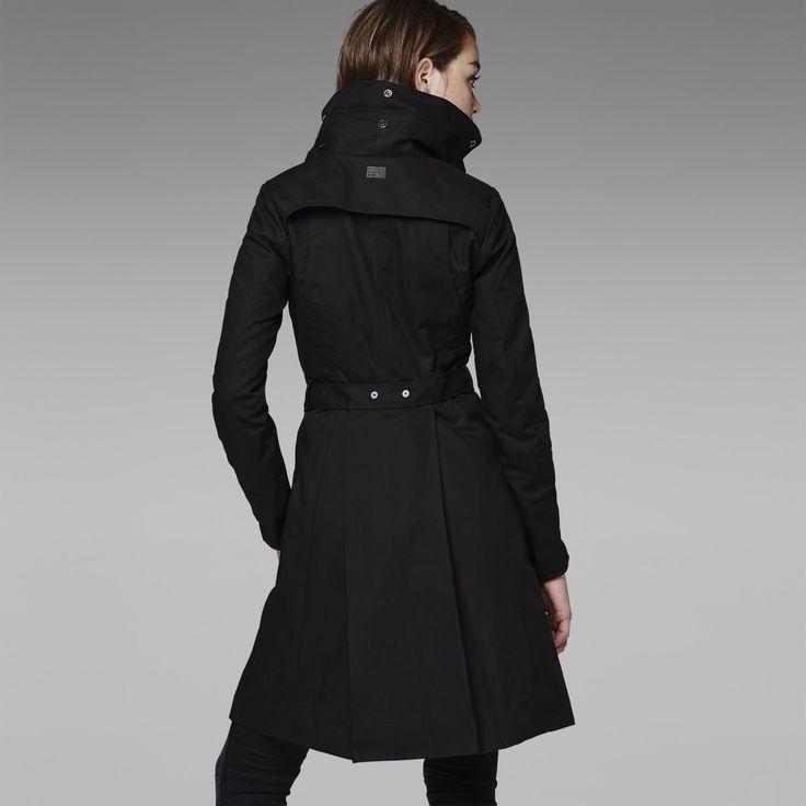 G-Star RAW | Women | Jackets-coats | Florence Slim Coat , Black