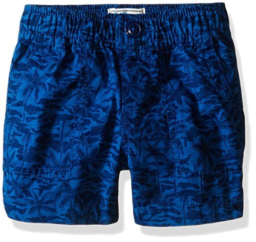 The Childrens Place Boys PullOn Printed Shorts Big Blue 1824 Months * You can find out more details at the link of the image.