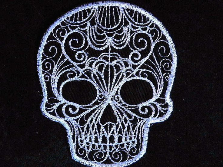 """""""Lace"""" skull tattoo in white ink would be super cute. Placement on shoulder blade or bicep, hmmm? Or maybe a matching black lace one done on opposite clavicles."""