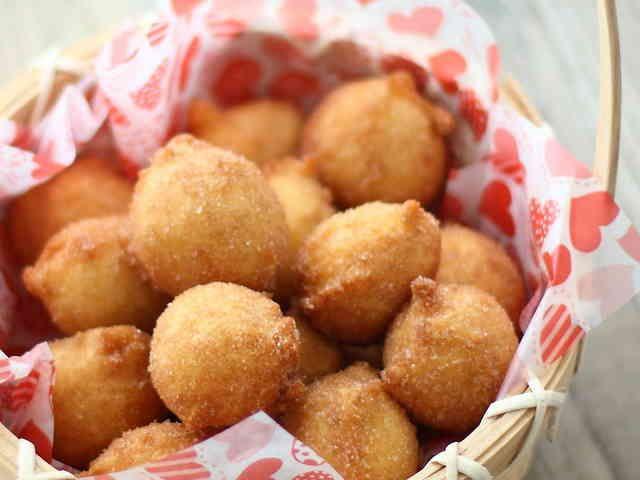 簡単★ホットケーキMIXでお豆腐ドーナツの画像