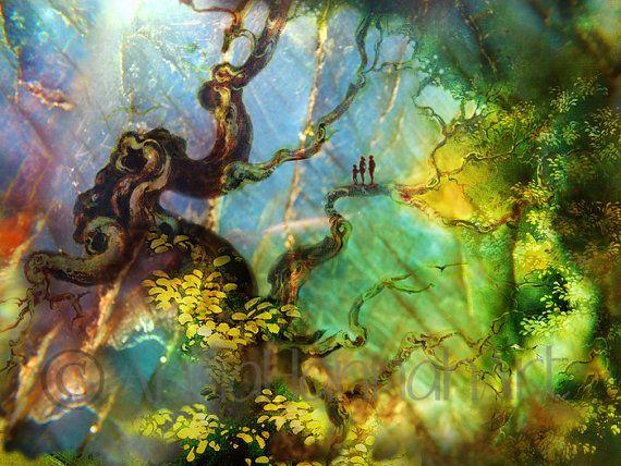 """In the Eden Garden"" from the series ""CrystalArt"""