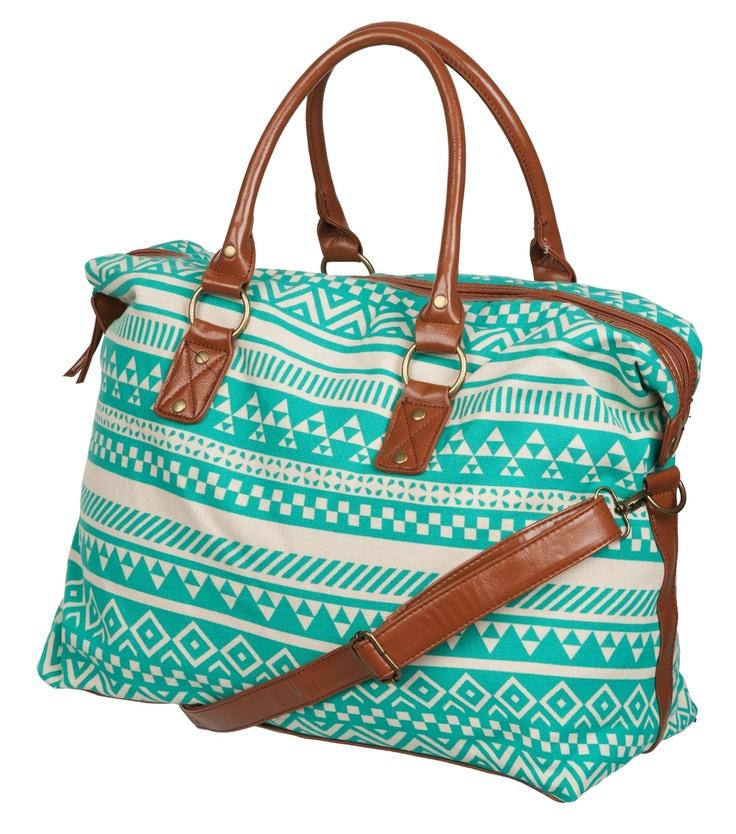 Petrol patterned bag