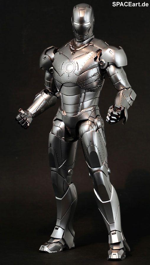 Iron Man 2: Mark II Armor Unleashed - Deluxe Figur, Fertig-Modell ... http://spaceart.de/produkte/irm001.php