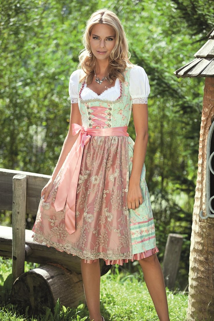 163 best dirndl trachtenlooks images on pinterest for Dirndl fa r mollige