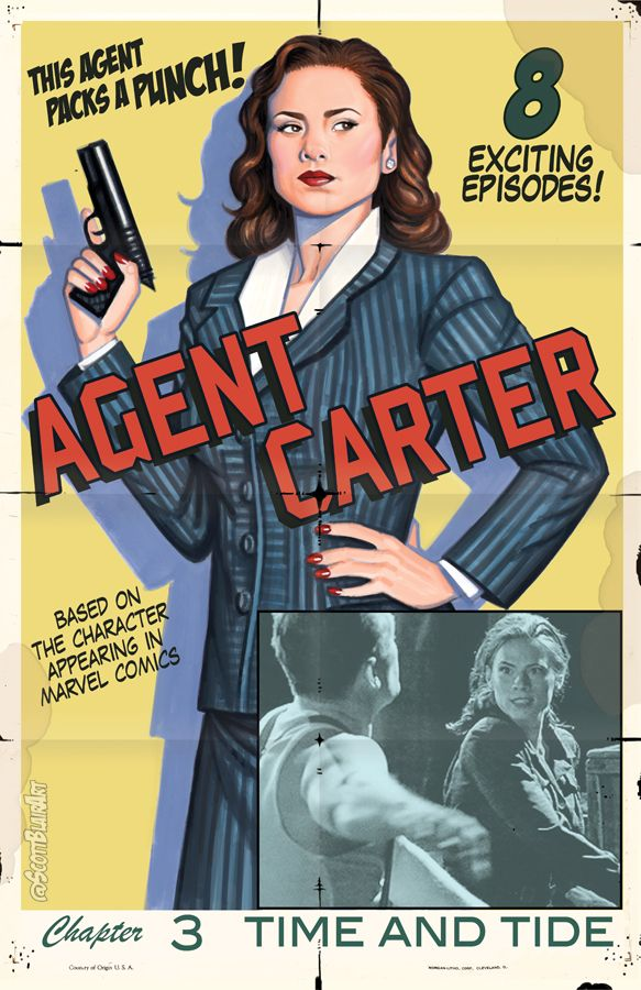 Agent Carter Serial Poster by scottblairart.deviantart.com on @DeviantArt