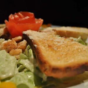 Caesar saláta csirkehússal - Megrendelhető itt: www.Zmenu.hu - A vizuális ételrendelő.