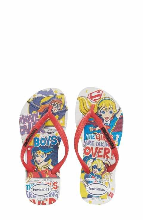bd8e78aaa048a Havaianas DC Comics Super Hero Girls Flip Flop (Toddler   Little Kid ...