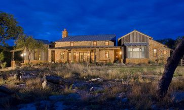 Stone homes texas hill country and country on pinterest for Hill country stone