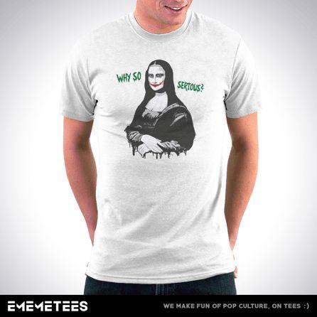 Why So Serious? (męska koszulka t-shirt)