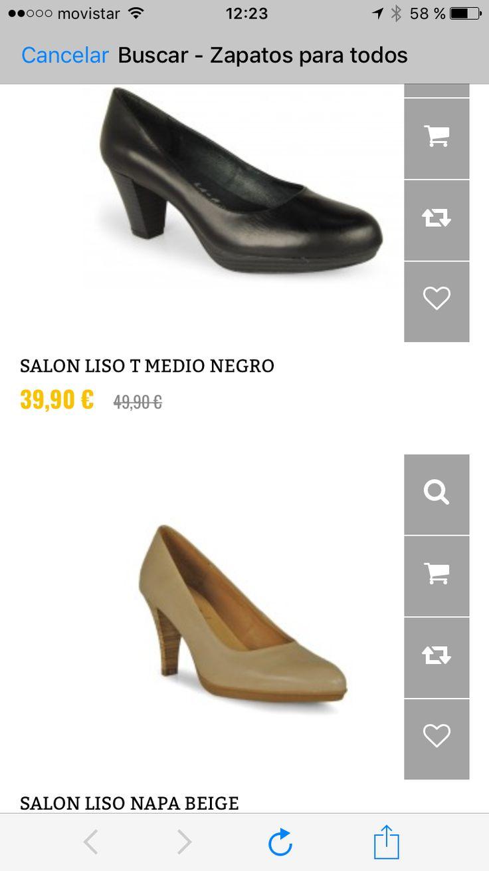 Descubre todas nuestras ofertas en la zona outlet, marcas Patricia Miller y Dimo tienda online o webshop www.zapatosparatodos.es