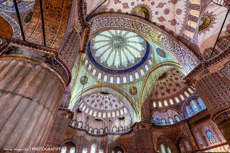 Istanbul Blue Mosque interior by Kevin Nirsimloo on 500px