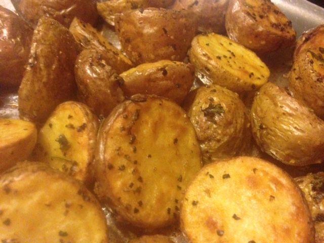 Die besten 25+ Oven roasted baby potatoes Ideen auf Pinterest - indische k che vegetarisch