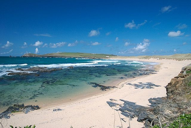 (Constantine Bay, Cornwall. by panf, via Flickr)  One of our favourite beaches in Cornwall