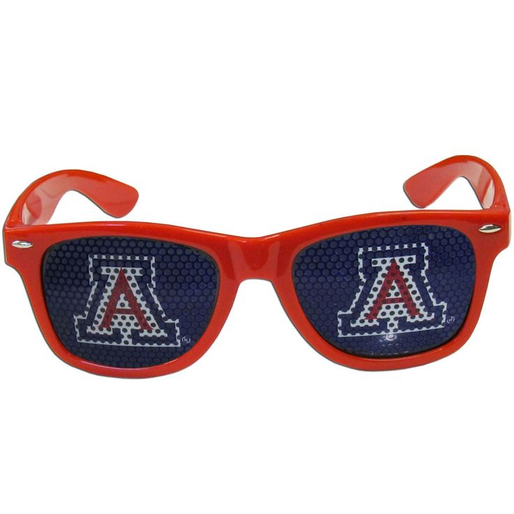 """Checkout our #LicensedGear products FREE SHIPPING + 10% OFF Coupon Code """"Official"""" Arizona Wildcats Game Day Shades - Officially licensed College product Maximum UVA/UVB protection Flex hinges for comfort and durability Perforated lenses allow you to see Arizona Wildcats logo - Price: $17.00. Buy now at https://officiallylicensedgear.com/arizona-wildcats-game-day-shades-cwgd54"""