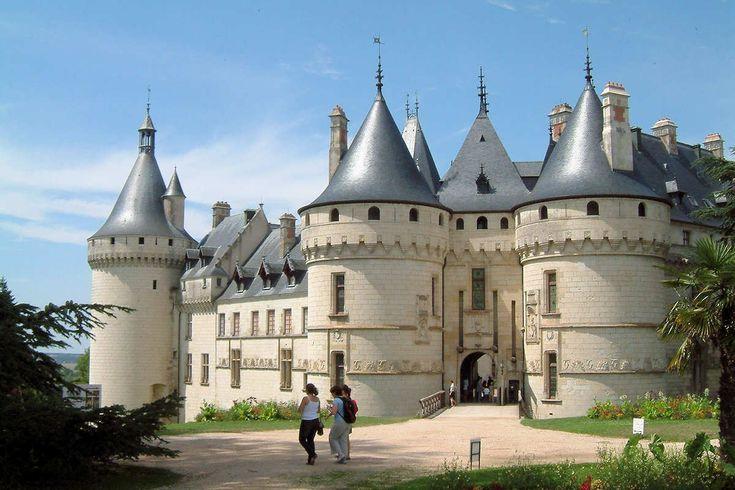 L'entrée du château de Chaumont sur Loire