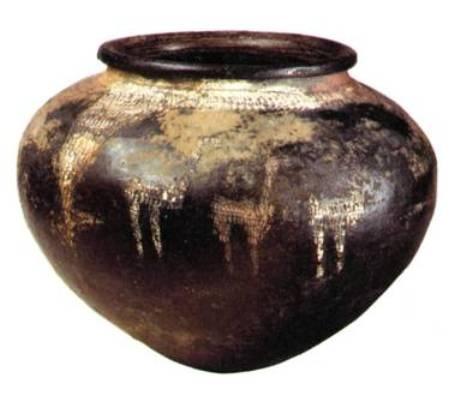 Ранняя стадия позднего бронзового века, в 15 в.  до нашей эры, Лчашен, Курган № 5, глина, 28x22 см, НИМА
