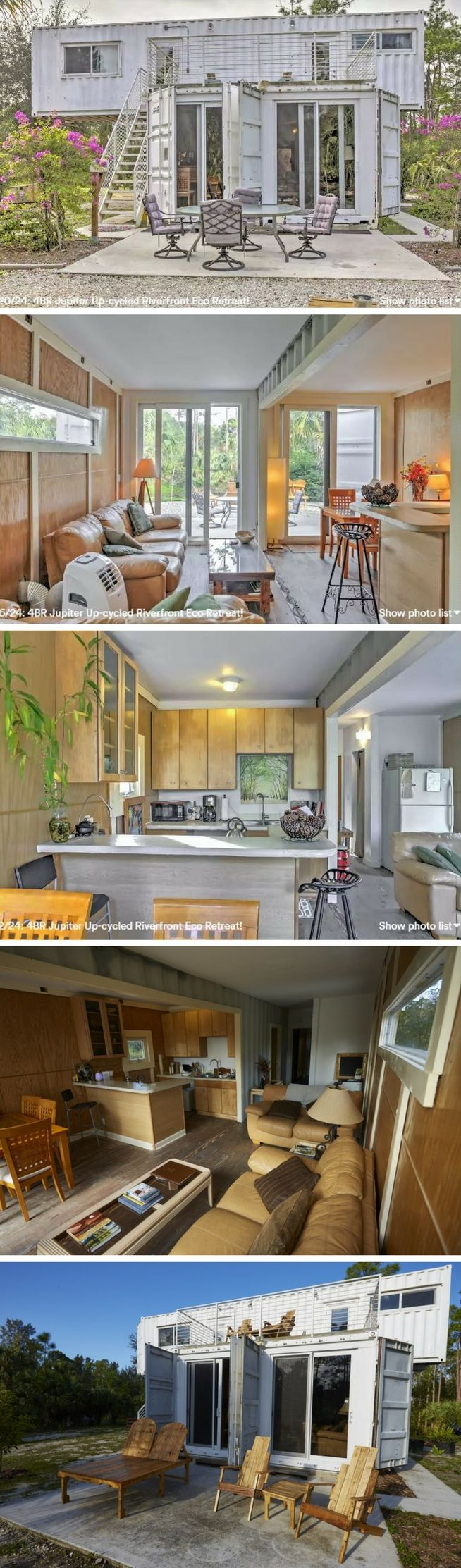 best 25 container house design ideas on pinterest container located in jupiter florida the eco retreat is a heavenly shipping container home to unwind and forget your worries set right in the midst of the