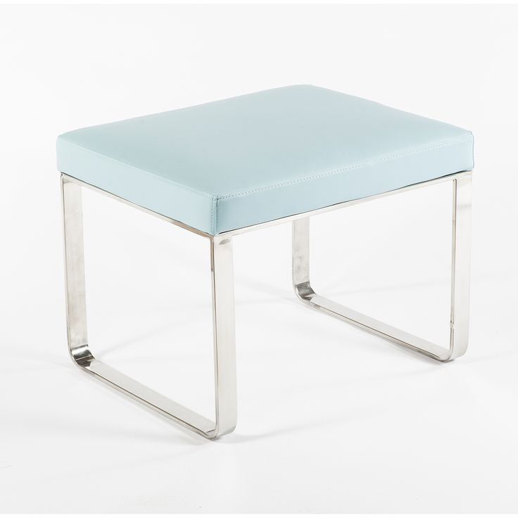 Showcasing Clean Lines, A Durable Stainless Steel Frame And Soft  Leatherette Upholstery, This Bench Lends Modern Elegance And Comfort To  Your Living Room.