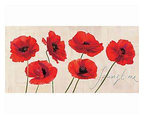 Stampa fine art su canvas con telaio in legno Springtime - 100x50x4 cm