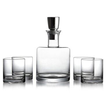 Check out this item at One Kings Lane! 5-Pc Whiskey Set, Clear