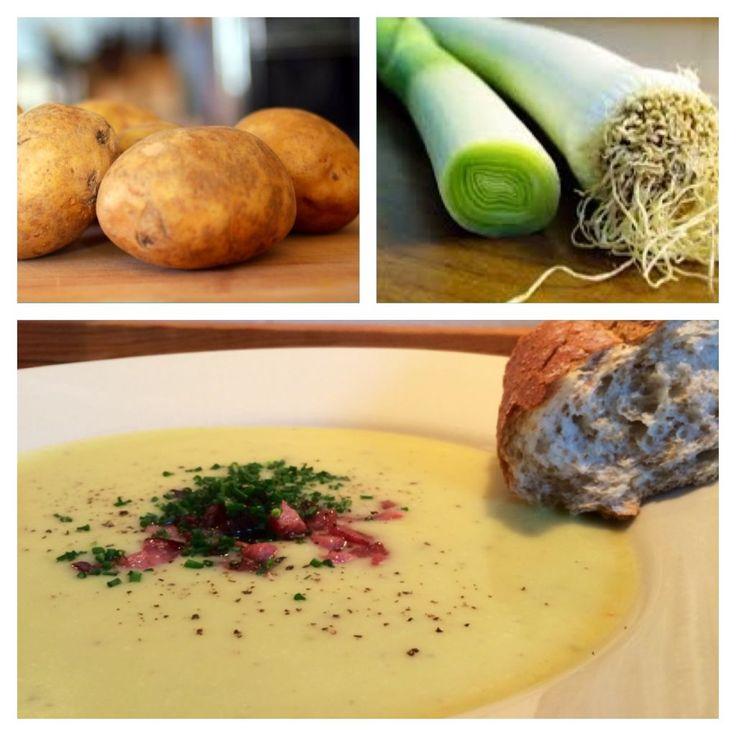 Kartoffel-porre suppe