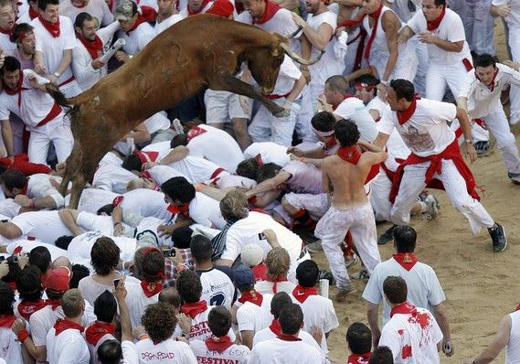 running of the bulls - Google Search