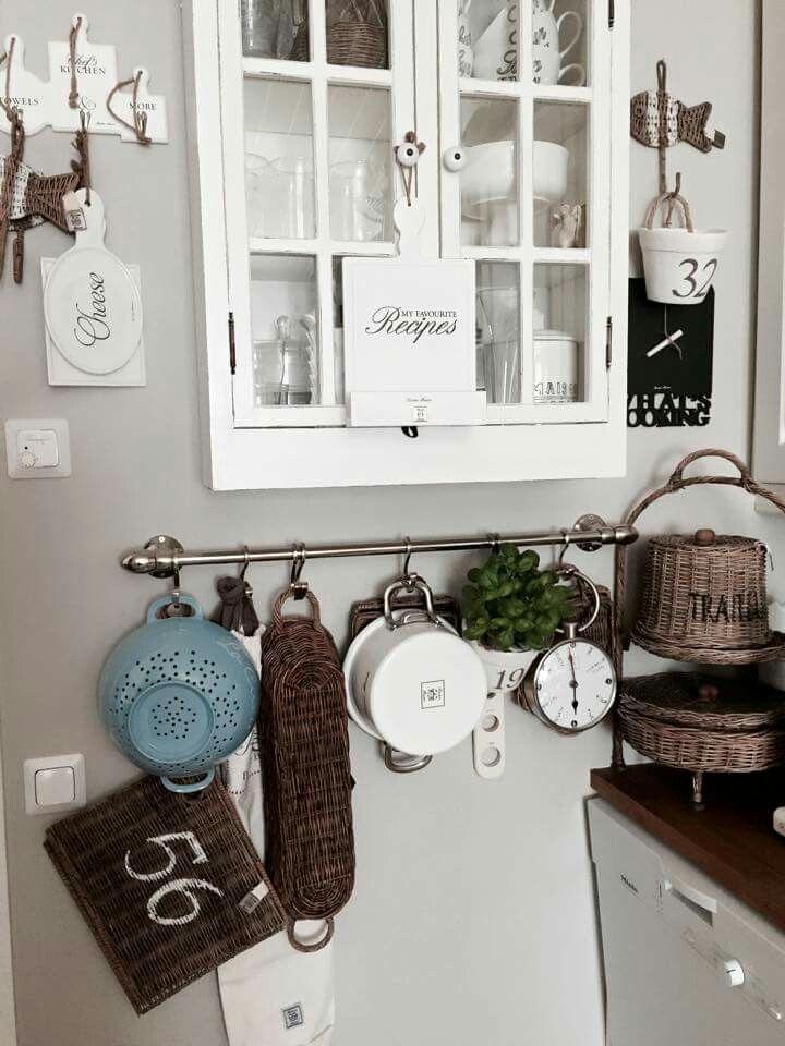 Keuken met Riviera Maison