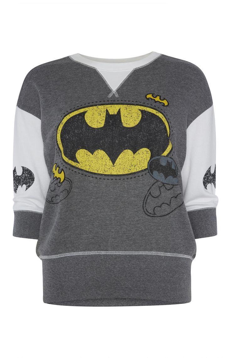 Primark - Batman Sweat PJ Top