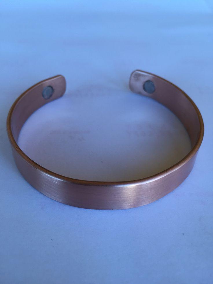 Bratara din cupru cu magneti Copper bracelet