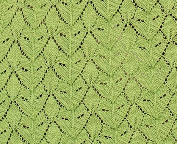 Lace Knitting Stitch. More Great Patterns Like This