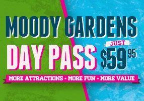 Moody gardens discount coupon