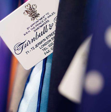 Turnbull & Asser. Jermyn Street shirt makers