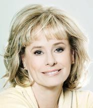 Kathy Reichs, great author who has lived so much of what she writes.  Her role in forensic anthropology is awe inspiring!