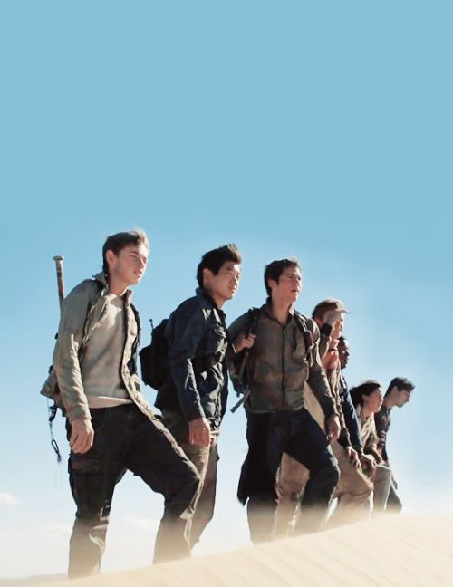 The Scorch Trials there back together