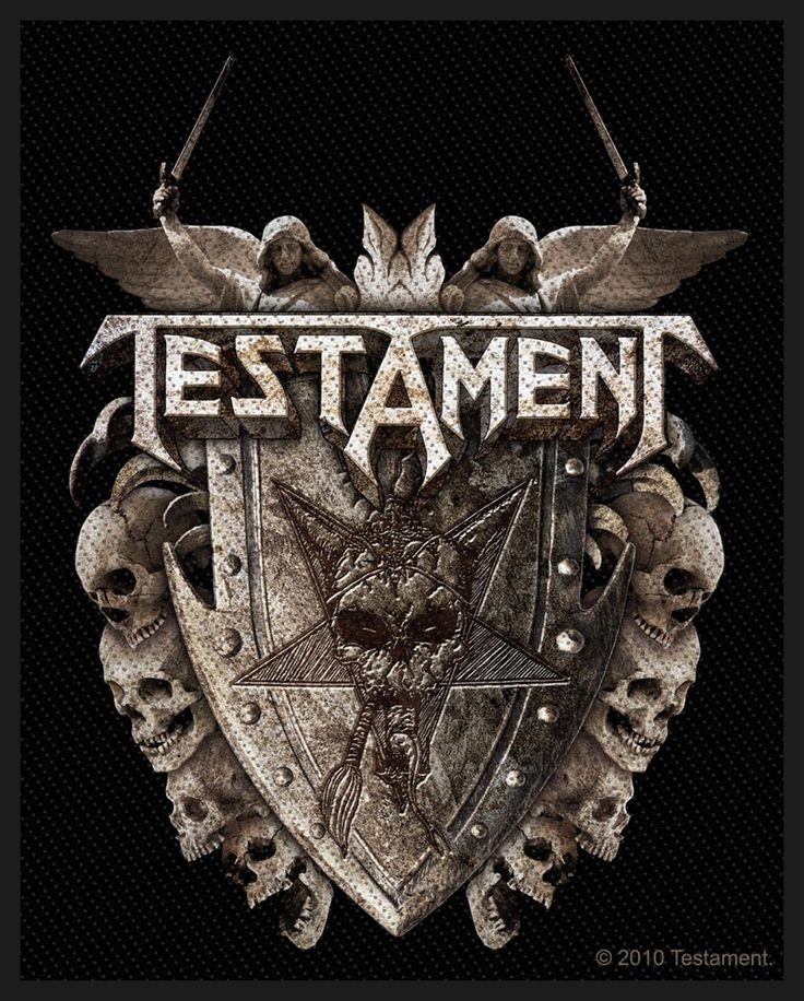 Stunning Testament Band with the Best Quality Image