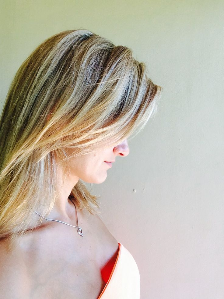 Blonde and a cool natural combination