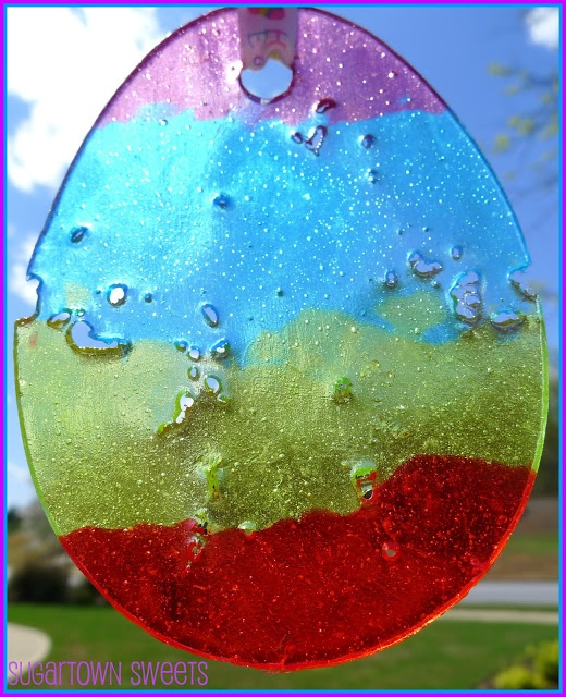 Jolly Ranchers *Stained Glass* Easter Egg Ornaments How-To