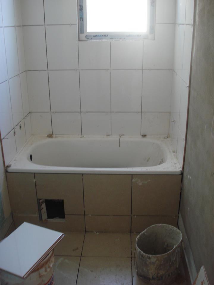 Baño, revestimiento de ceramicas
