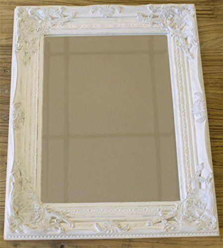 Distressed Antique French Ornate Style White Wall Mirror ... https://www.amazon.co.uk/dp/B00DTSPUS2/ref=cm_sw_r_pi_dp_ElYnxbKPH0RK7